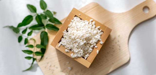 甘酒の原料の米麹