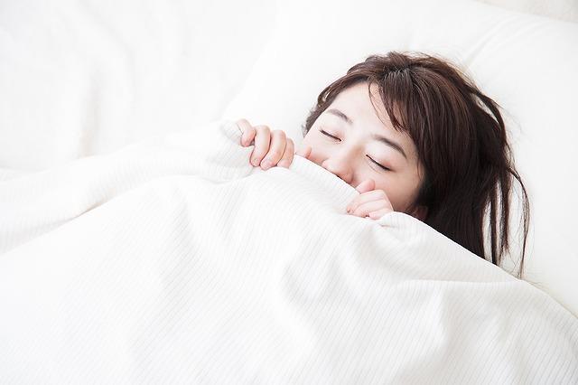 睡眠で疲労回復