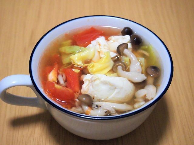 豆腐野菜スープ