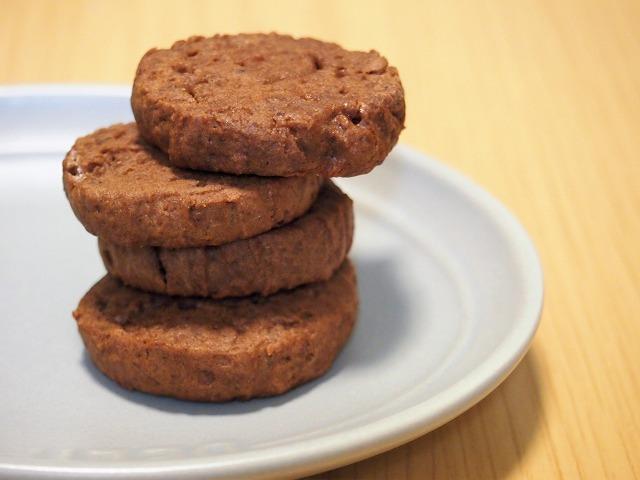 ココアおからクッキー