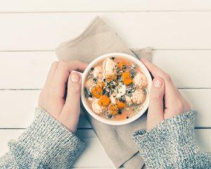 ダイエットに役立つスープ
