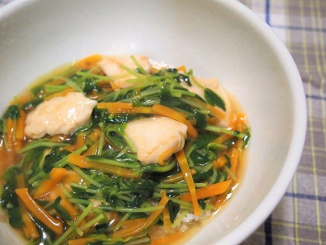 鶏の中華あんかけご飯