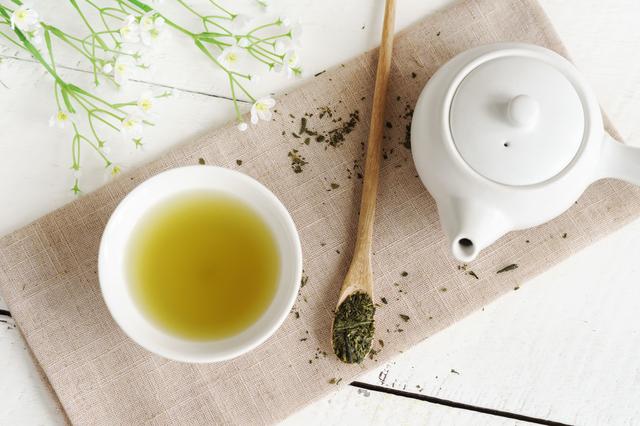 カテキンを含む緑茶