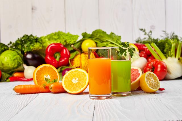 野菜不足を解消するための野菜ジュース