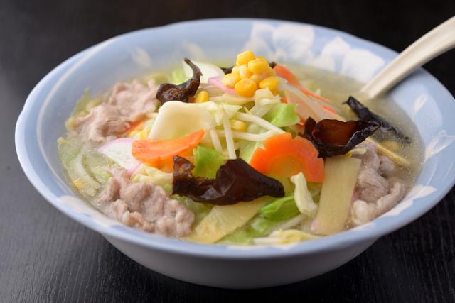 野菜たっぷりのタンメン