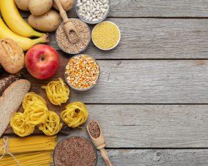 炭水化物を含む食品