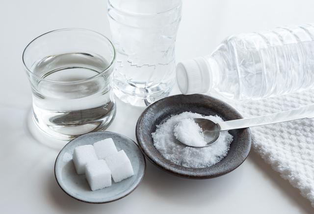 経口補水液の材料