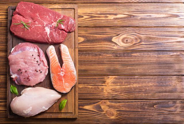 肉類と魚類