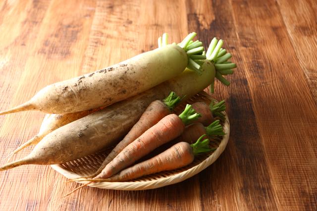 土付きの野菜
